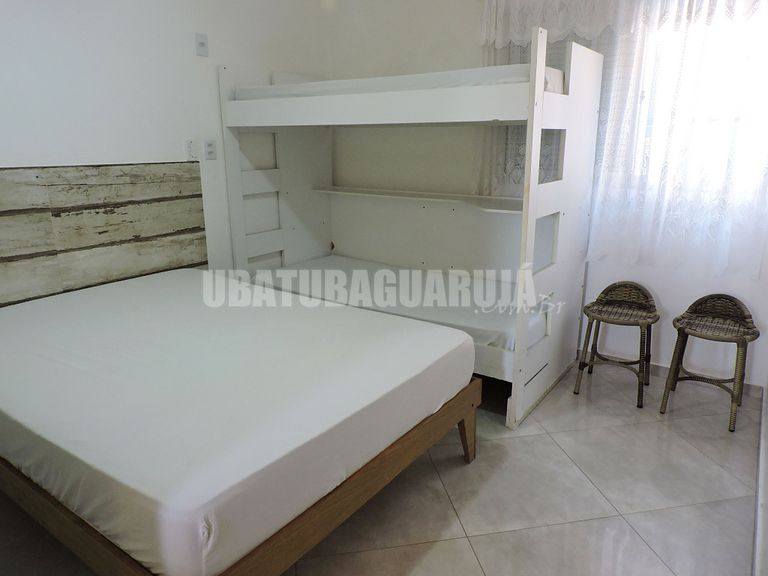1 bedroom apartment for 6 people two blocks from Praia Grand